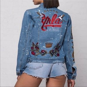 NEW Young & Reckless Jean Jacket